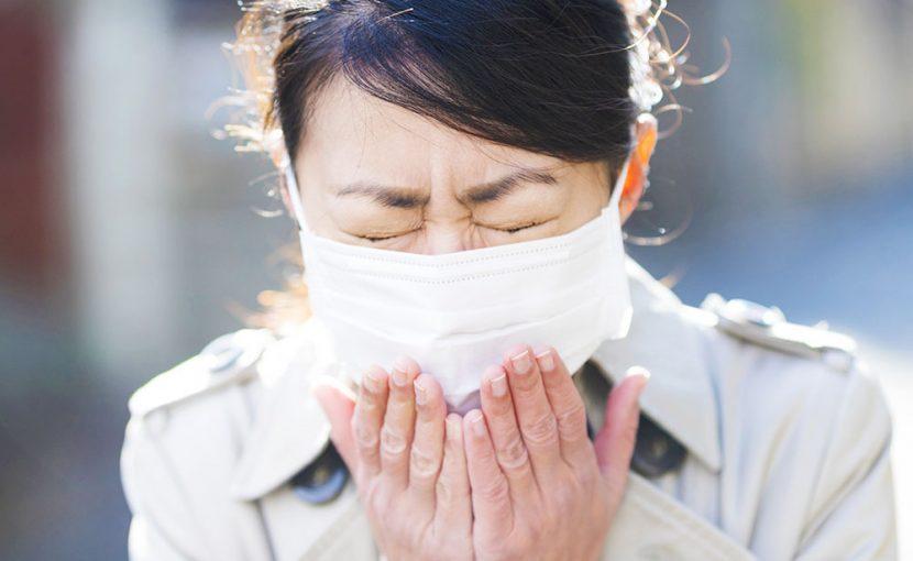 猛威をふるうインフルエンザの感染経路